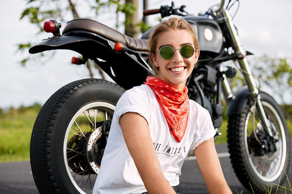 moto et compagne